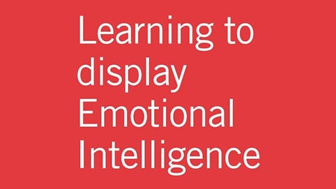 Learning to display Emotional Intelligence