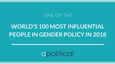Worlds Most Influential People Working on Gender Policy482x271