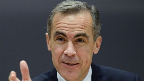 Mark Carney made his comments at Lincoln Cathedral